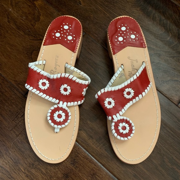 Jack Rogers Shoes   Red Jack Rogers